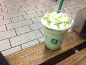 『スッキリした味!』抹茶ホワイトマーブルフラペチーノレビュー!